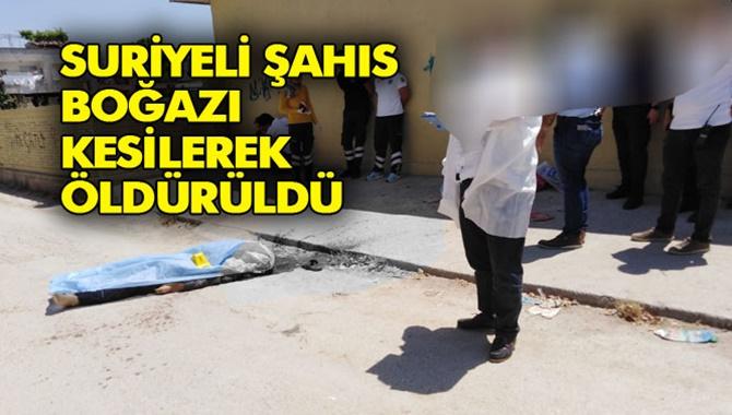 Tarsus'ta Korkunç Cinayet 1 Ölü