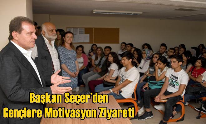 Başkan Seçer'den Gençlere Motivasyon Ziyareti