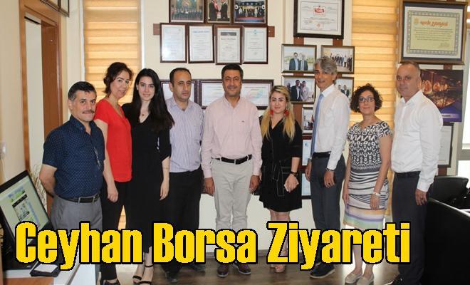 Ceyhan Borsa Ziyareti