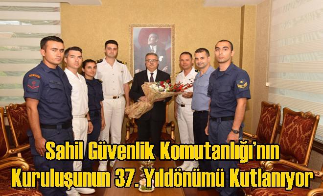 Sahil Güvenlik Komutanlığı'nın Kuruluşunun 37. Yıldönümü Kutlanıyor
