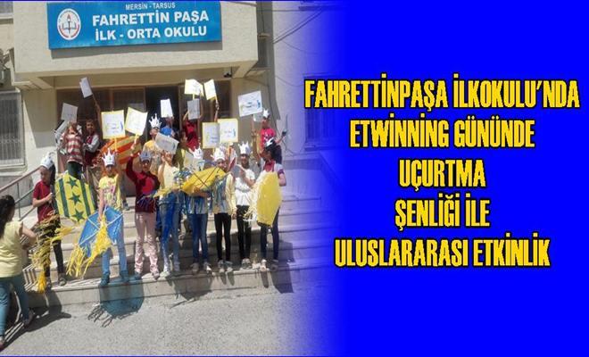 Fahrettinpaşa İlkokulu'nda Uçurtma Şenliği İle Uluslararası Etkinlik