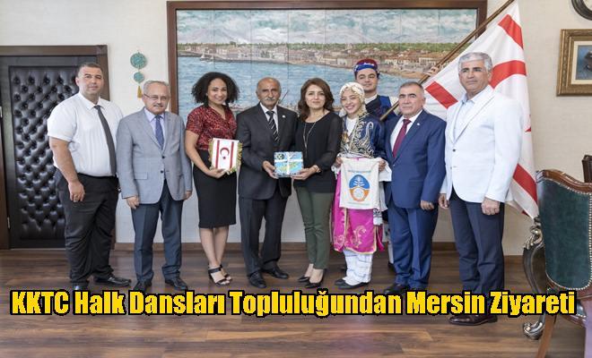 KKTC Halk Dansları Topluluğundan Mersin Ziyareti