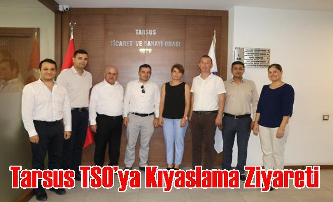 Tarsus TSO'ya Kıyaslama Ziyareti