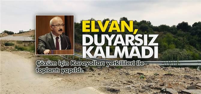 """Mersin Milletvekili Elvan, Duyarsız Kalmadı: """"Çöken Tarsus – Çamlıyayla Yolu"""" Toplantıda Görüşüldü"""