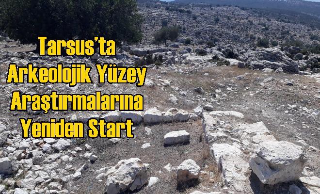 Tarsus'ta Arkeolojik Yüzey Araştırmalarına Yeniden Start