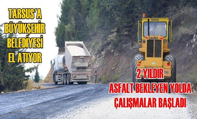 Mersin Büyükşehirden Tarsus'a Asfalt Atağı
