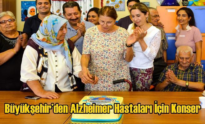 Büyükşehir'den Alzheimer Hastaları İçin Konser