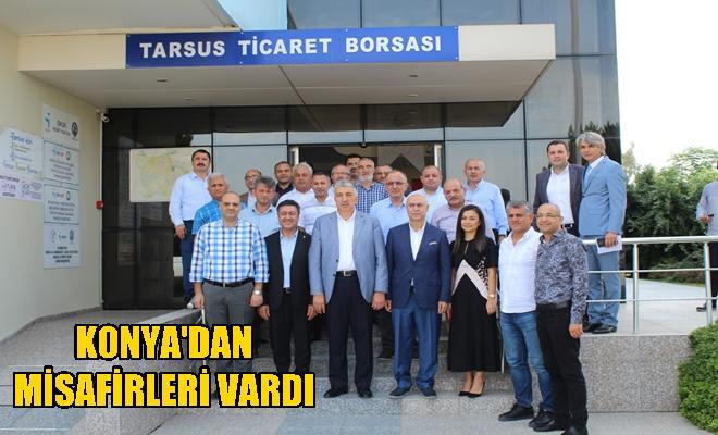 Konya Ticaret Borsasından Tarsus'a Ziyaret