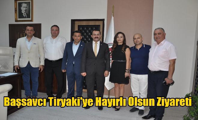 TASİAD'dan Başsavcı Tiryaki'ye Hayırlı Olsun Ziyareti