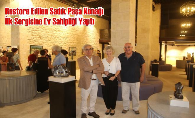 Restore Edilen Sadık Paşa Konağı İlk Sergisine Ev Sahipliği Yaptı