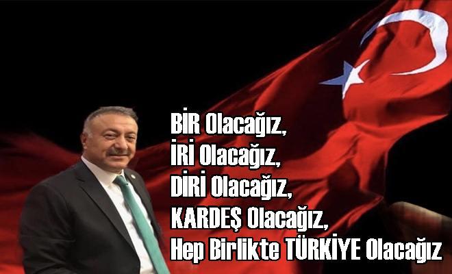 Mersin Milletvekili Hacı Özkan'dan TBBM'de Kardeşlik Vurgusu