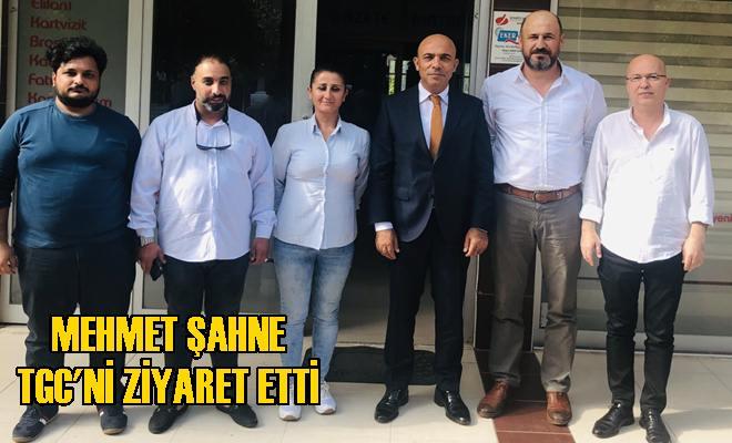 İl Emniyet Müdürü Şahne Tarsus Gazeteciler Cemiyetini Ziyaret Etti