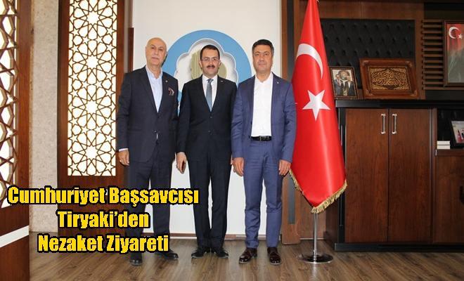 Cumhuriyet Başsavcısı Tiryaki'den Nezaket Ziyareti