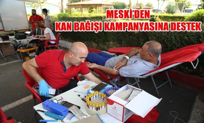 MESKİ'den Kan Bağışı Kampanyasına Destek
