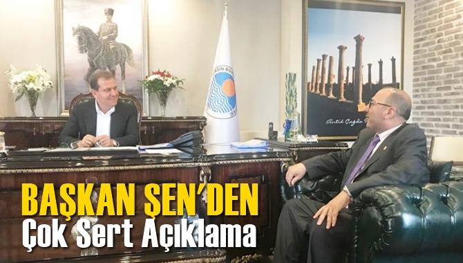 Başkan Duran Şen'den Sert Açıklama
