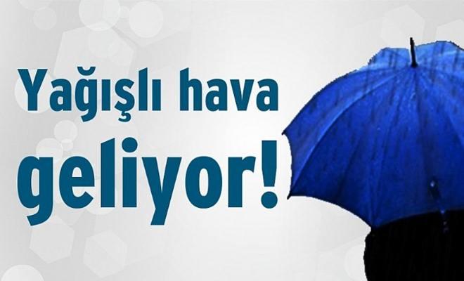 Yağışlı Hava Geliyor!