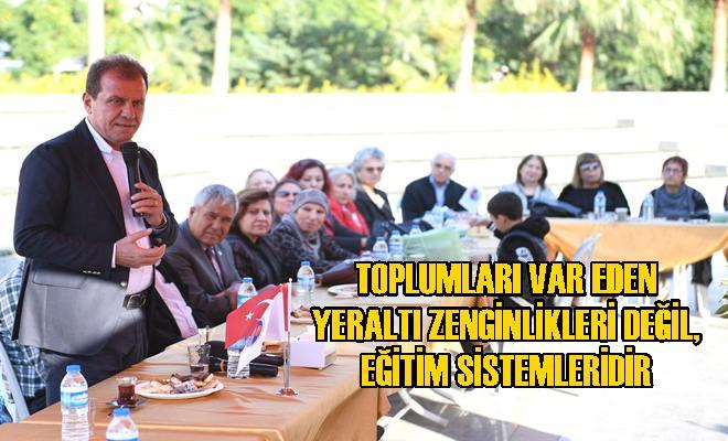 Başkan Seçer, Emekli Öğretmenler ile Bir Araya Geldi