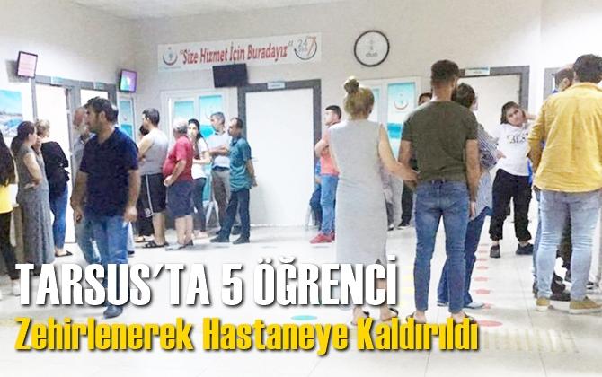 Tarsus'ta 5 Öğrenci Yedikleri Dönerden Zehirlenerek Hastaneye Kaldırıldı İddiası