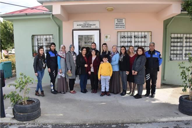 Tarsus Altaylılar Mahallesinde Huzur Toplantısı