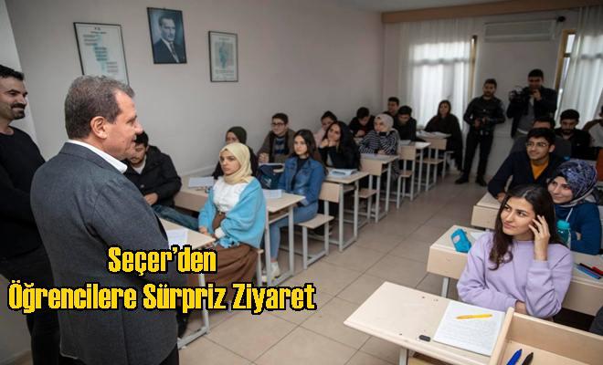 Seçer'den Öğrencilere Sürpriz Ziyaret