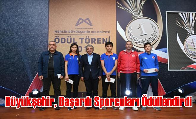 Büyükşehir, Başarılı Sporcuları Ödüllendirdi