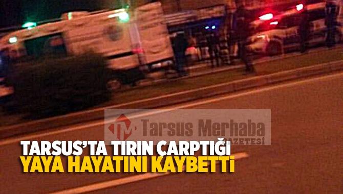 Tarsus'ta Feci Kazada 1 Kişi Hayatını Kaybetti
