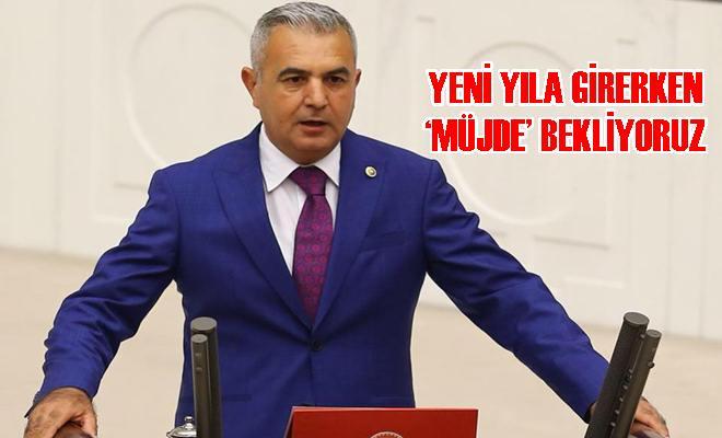 """MHP'li Baki Şimşek: """"Yeni Yıla Girerken 'Müjde' Bekliyoruz"""""""
