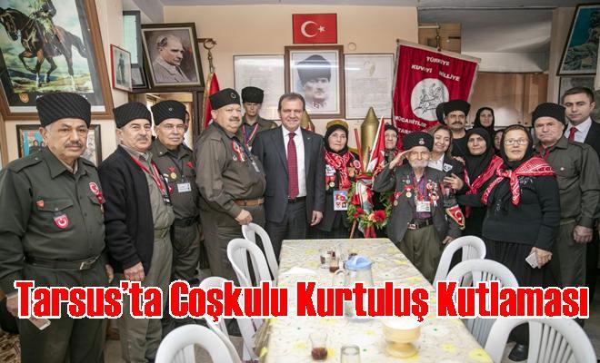 Tarsus'ta Coşkulu Kurtuluş Kutlaması