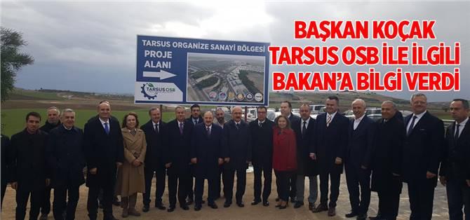 Sanayi ve Teknoloji Bakanı Varank Tarsus OSB'de İncelemelerde Bulundu