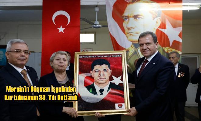 Mersin'in Düşman İşgalinden Kurtuluşunun 98. Yılı Kutlandı