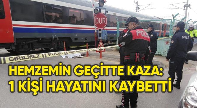 Mersin Tarsus Öğretmenler Mahallesi Hemzemin Geçitte Tren Kazası: 1 Ölü