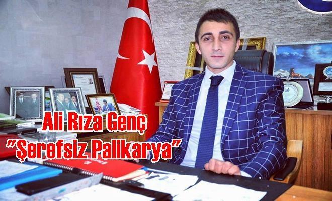 "Ali Rıza Genç ""Şerefsiz Palikarya"""
