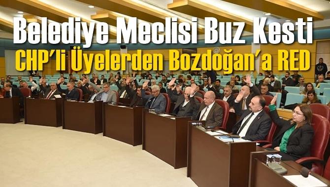 Bozdoğan'a CHP'li Meclis Üyelerinden Red