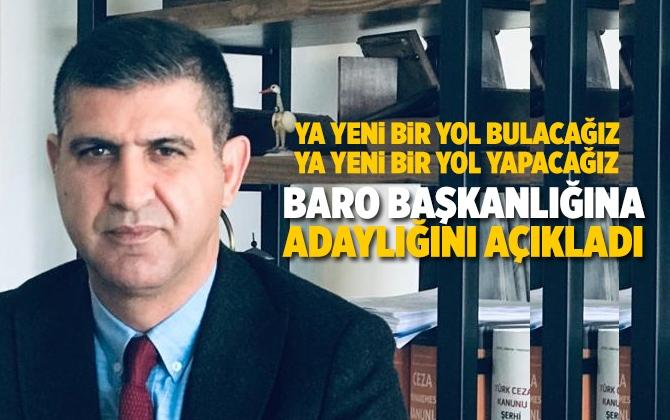 Avukat Semih Birol Güner Mersin Baro Başkanlığına Adaylığını Açıkladı