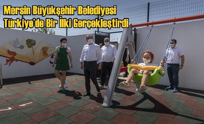 Mersin Büyükşehir Belediyesi Türkiye'de Bir İlki Gerçekleştirdi