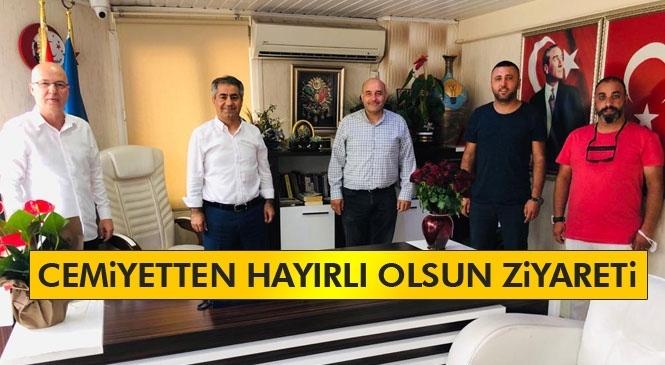 Cemiyetten AK Parti İlçe Başkanı Podak'a Ziyaret
