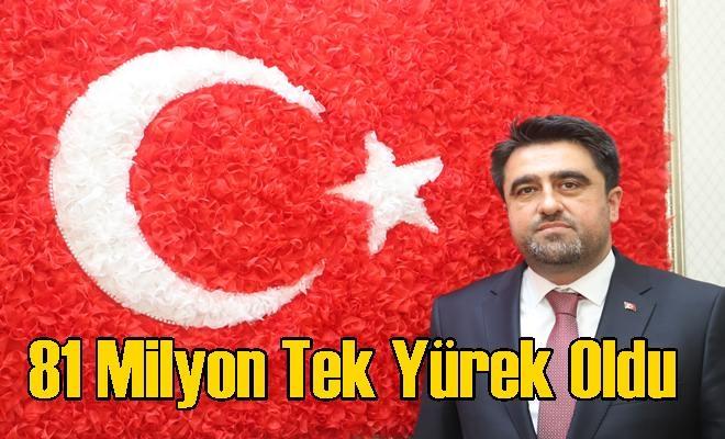 """Cesim Ercik """"81 Milyon Tek Yürek Oldu"""""""