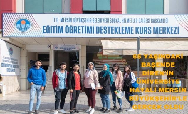 Üniversite Sevincini Torunlarıyla Paylaştı