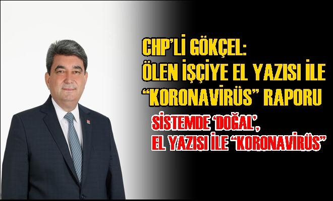 CHP Milletvekili Gökçel'den Çarpıcı Açıklamalar
