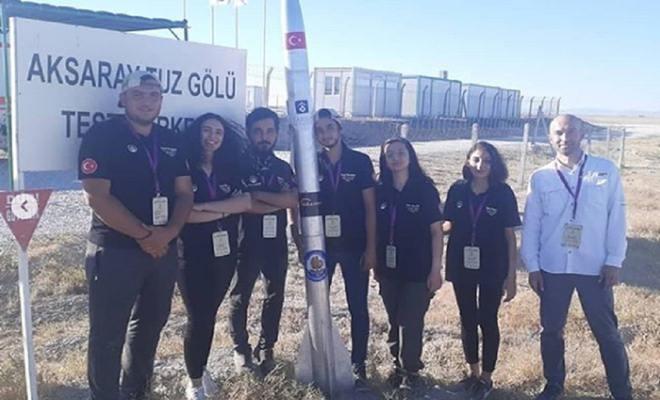 """Ticaret Borsası Başkanı Murat Kaya """"Tarsus Roket Takımı'nı Tebrik Ediyoruz"""""""