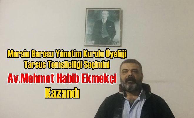 Seçimi Av.Mehmet Habib Ekmekçi Kazandı