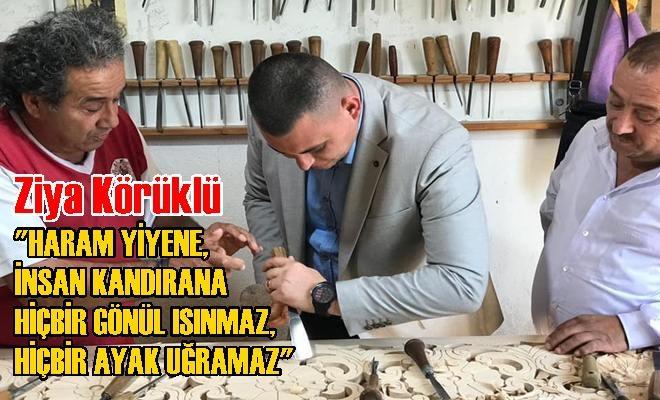Tarsus Ülkü Ocakları Başkanı Ziya Körüklü Ahilik Haftasını Kutladı