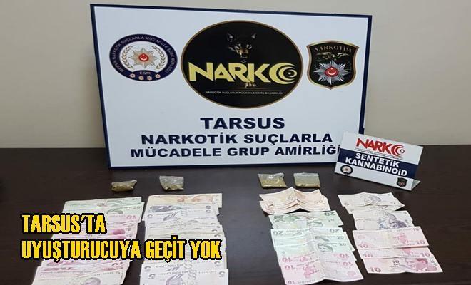 Tarsus'ta Uyuşturucuya Geçit Yok
