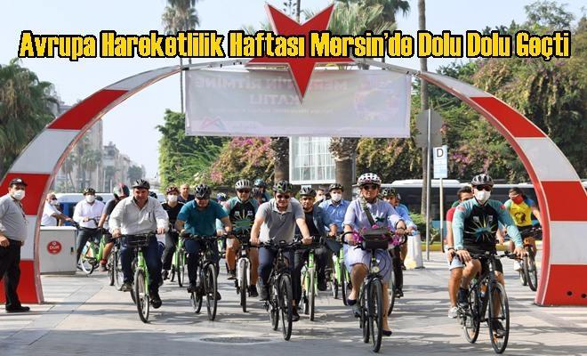 Avrupa Hareketlilik Haftası Mersin'de Dolu Dolu Geçti