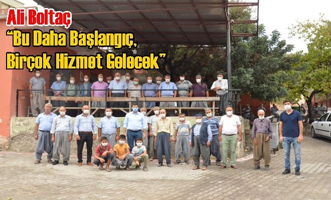 """Ali Boltaç: """"Bu Daha Başlangıç, Birçok Hizmet Gelecek"""""""