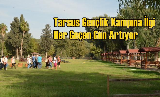 Tarsus Gençlik Kampına İlgi Her Geçen Gün Artıyor