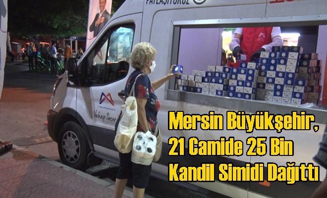 Mersin Büyükşehir, 21 Camide 25 Bin Kandil Simidi Dağıttı