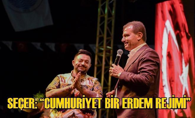 Cumhuriyet Coşkusu Büyükşehir İle Tüm Mersin'i Sardı