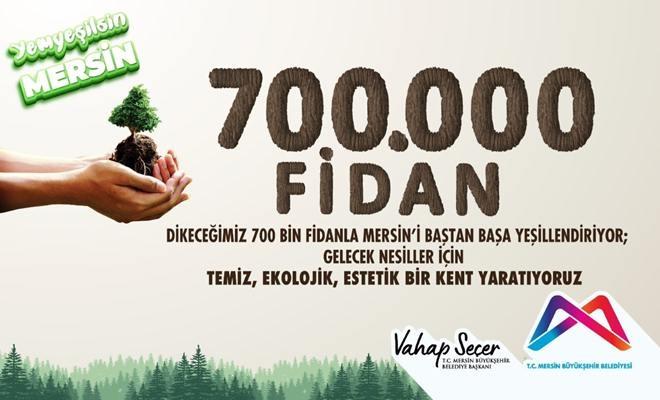 """Büyükşehir, """"Yeşil Mersin Projesi""""ni Başlatıyor"""