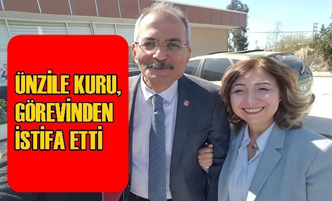 Tarsus Belediye Başkan Yardımcısı Ünzile Kuru, Görevinden İstifa Etti